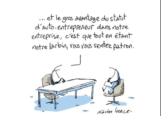 """Illustration du livre de Sarah Abdelnour :""""Moi, petite entreprise"""" - PUF"""